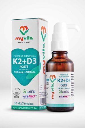 K2+D3 vitamíny Nakupzdrave